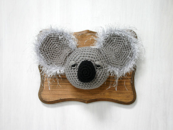 Crochet Taxidermy, Koala - Huckleberry Kids Rooms