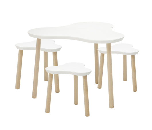 CLOVER TABLE & STOOL SET