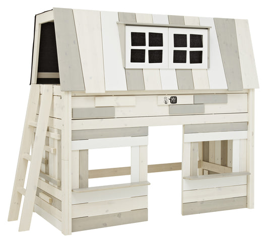 My Hangout Cabin Bed - Huckleberry Kids Rooms