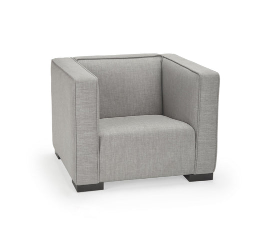 Opie kids chair in pebble grey - Huckleberry Kids Rooms
