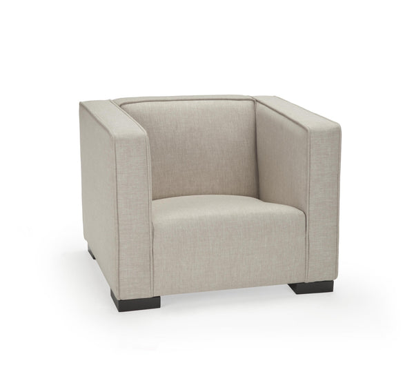 Opie kids chair in sand color - Huckleberry Kids Rooms