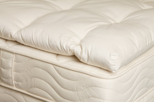 Organic Wool Mattress Pad - Huckleberry Kids Rooms