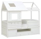 Silversparkle-Cabin-Bed-with-Storage-Cabinet-and-Cottage-Rooftop-in-non-toxic-white-solid-wood-by-Lifetime-Kidsrooms-sold-by-Huckleberry-Kids-Rooms