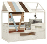 Treehouse-Cabin-Bed-with-Storage-Cabinet-and-nameplate-organic-solid-wood-by-Lifetime-Kidsrooms-sold-by-Huckleberry-Kids-Rooms