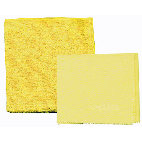 E-Cloth Microfiber Bathroom Cleaning Cloths 2pk - Brilliant Vacuum
