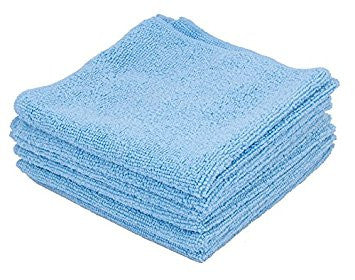 Ettore All Purpose Microfiber Cloth 13 x 13 Package of 6 Item # 84460