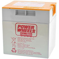 Power Wheels 12V 9.5 Ah Battery Orange Top 00801-1661