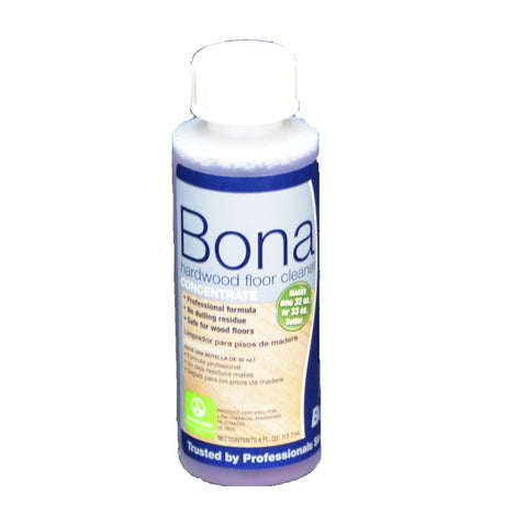 Bona Pro Cleaner Hardwood Concentrate 4oz - Brilliant Vacuum