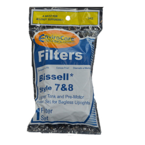 Bissell Filter Style 7 8 Foam Pre Motor & Upper Tank - Brilliant Vacuum