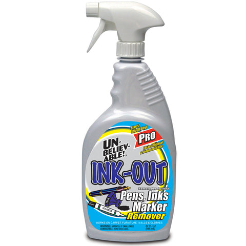 Unbelievable Ink Out Spray 32oz - Brilliant Vacuum