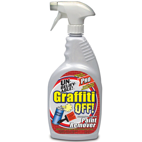 Unbelievable Graffiti Off Spray 32oz - Brilliant Vacuum