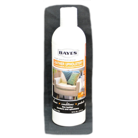 Bayes Leather Cleaner Conditioner 16oz - Brilliant Vacuum