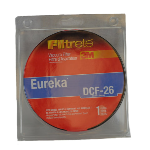 Eureka Filter DCF26 3M Filtrete Dirt Cup AS5200 Series Item # 67836A-2