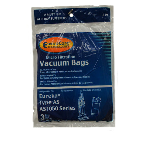 Eureka Paper Bag Style AS Micro 3pk - Brilliant Vacuum