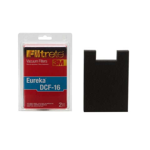 Eureka Replacement Filter 3M Eureka DCF-16 2Pk Item # 67816A