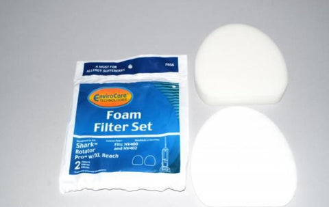 Shark Filter Set Foam 2pk Rotator Pro Xl NV400 NV402 - Brilliant Vacuum