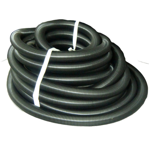 "Crushproof Hose Black 50' X 1 1/4"" - Brilliant Vacuum"