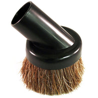 "Fitall 1 1/4"" Dust Brush Soft Body With Horse Hair Bristles Black - Brilliant Vacuum"