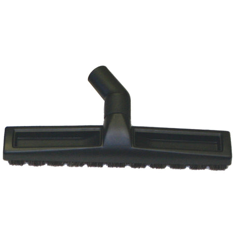 "Fitall 12"" Bare Floor Tool 1 1/4"" Black Horse Hair Bristles and Wheels - Brilliant Vacuum"
