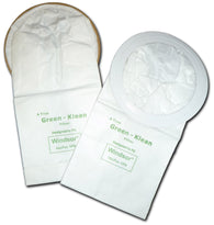 Windsor Replacement Vacuum Bags 68075 &  8.619-891.0 GK-VP6 Green Klean®