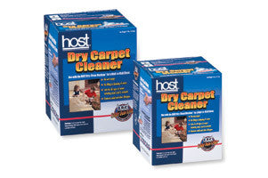 Host Dry Carpet Cleaner 6lb Box - Brilliant Vacuum