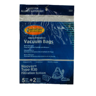 Hoover Paper Bag R30 5pk With 1 Secondary & 1 Final Filter - Brilliant Vacuum