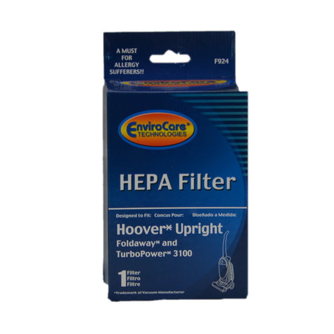 Hoover Filter Primary Hepa Dirt Cup Fold Away & Turbo - Brilliant Vacuum