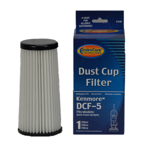 Kenmore Filter DCF5 With Charcoal - Brilliant Vacuum