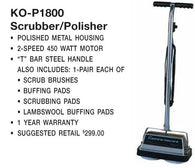 Koblenz Polisher 2 Speed 4.2 Amp W Brushes Pads Item # 00-2080-0