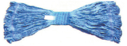 Mop Head Blue #24 Cotton Looped Ends Wide Band