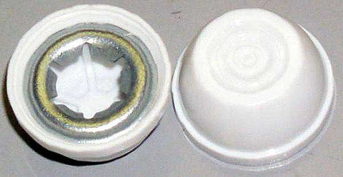 Power Wheels .354 White Capnut/Retainer 0801-0548