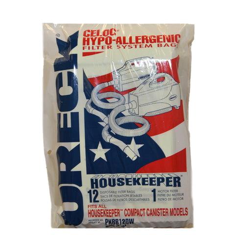 Oreck Paper Bag Buster B Housekeeper Canisters 12pk - Brilliant Vacuum