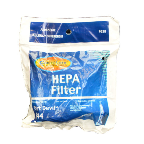 Royal Dirt Devil Filter Hepa F44 - Brilliant Vacuum
