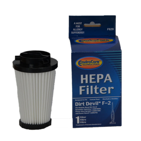 Royal Filter Hepa F2 Dynamite Bagless 084600 - Brilliant Vacuum