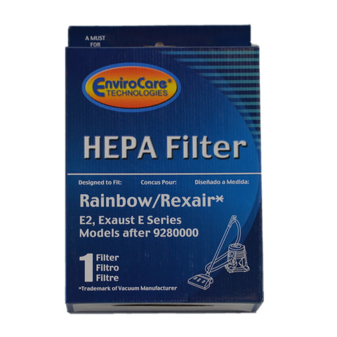 Rainbow Filter Exhaust Hepa E2 After Serial # 9280000 Square - Brilliant Vacuum