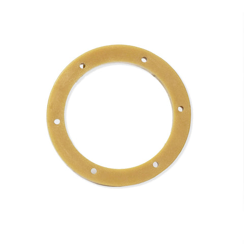 "Malish 1-1/4"", 4/5"" Center Hole Plastic Riser ZRPLR125"