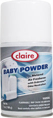 Claire Metered Aerosol Baby Powder 7oz Item # 119 - Brilliant Vacuum