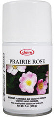 Claire Metered Aerosol Prairie Rose 7oz Item # 145 Case of 12 - Brilliant Vacuum