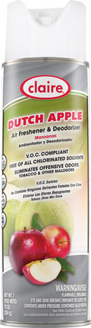 Claire Air Freshener & Deodorizer Apple 20oz Item # 161 Case of 12 - Brilliant Vacuum