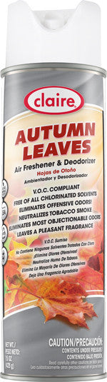 Claire Air Freshener & Deodorizer Autumn Leaves 20oz Item # 173 - Brilliant Vacuum