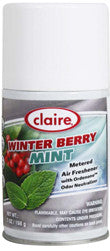 Claire Metered Aerosol Winter Berry Mint 7oz Item # 188 Case of 12 - Brilliant Vacuum