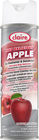 Claire Air Freshener & Deodorizer Red Delicious Apple 20oz Item # 192 - Brilliant Vacuum