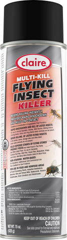 Claire Multi-Kill Flying Insect Killer 20oz Item # 266 Case of 12 - Brilliant Vacuum