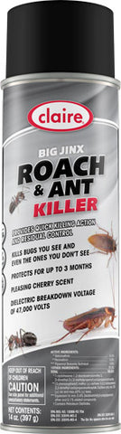 Claire Big Jinx Roach & Ant Killer 20oz Item # 296 - Brilliant Vacuum