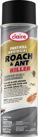 Claire Fast Kill Residual Roach & Ant Killer 20oz Item # 301 - Brilliant Vacuum