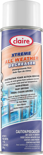 Claire Extreme Gleme All Weather Surface Degreaser 20oz Item # 700 Case of 12 - Brilliant Vacuum