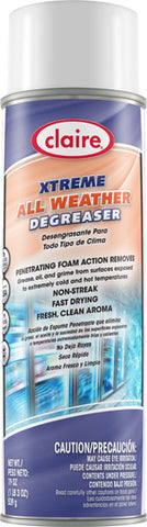 Claire Extreme Gleme All Weather Surface Degreaser 20oz Item # 700 - Brilliant Vacuum