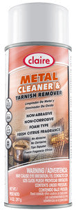 Claire Metal Polish 16oz Item # 847 Case of 12 - Brilliant Vacuum