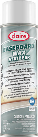 Claire Baseboard Wax Stripper 20oz Item # 856 Case of 12 - Brilliant Vacuum