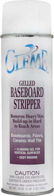 Claire Gleme Gelled Baseboard Stripper 20oz Item # 859 Case of 12 - Brilliant Vacuum